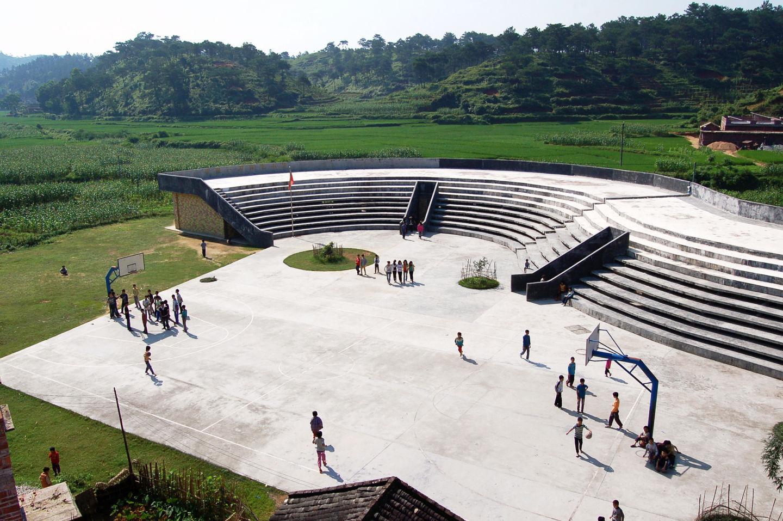 nouvelle école primaire de Qinmo