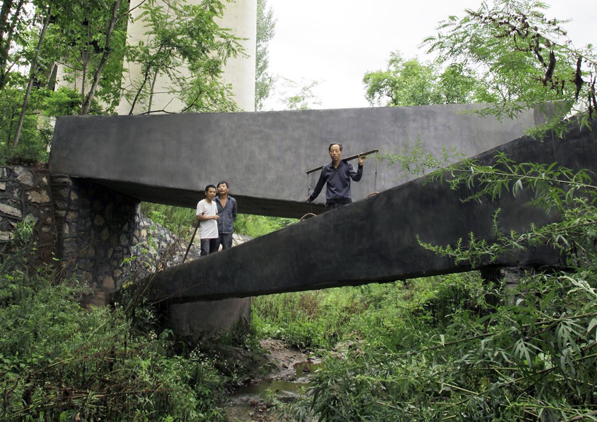 pont de Lingzidi dans la Province du Shaanxi