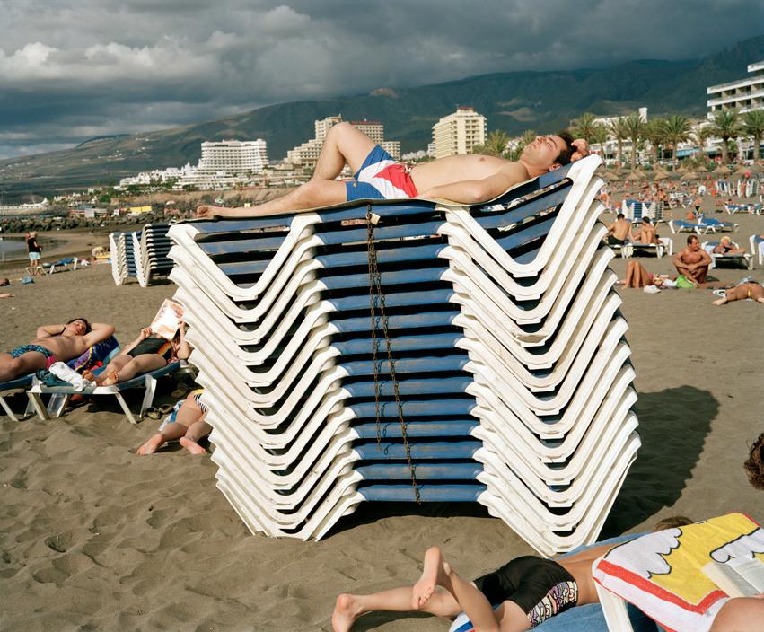SPAIN. Tenerife. Playa De Las Americas. 1993.